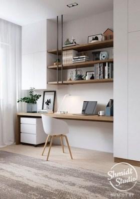 Vintage Home Office Design Ideas17