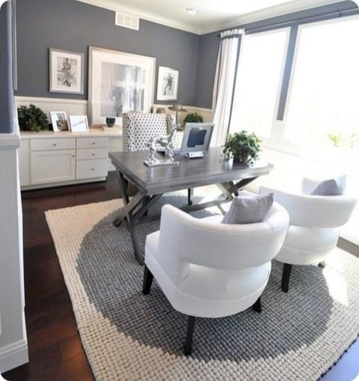 Vintage Home Office Design Ideas24
