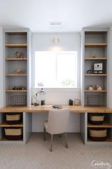Vintage Home Office Design Ideas28