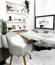 Vintage Home Office Design Ideas37