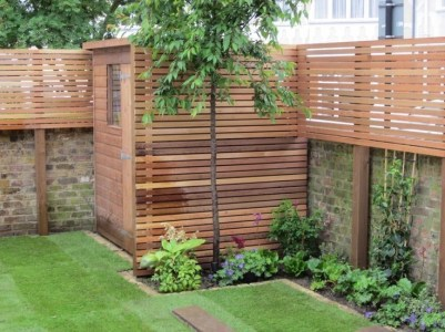 Awesome Small Garden Fence Ideas35