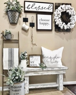 Beautiful Farmhouse Living Room Decor Ideas20