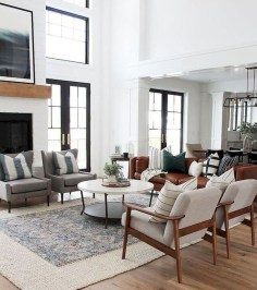 Beautiful Farmhouse Living Room Decor Ideas32