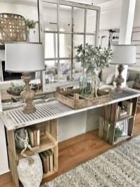 Beautiful Farmhouse Living Room Decor Ideas34