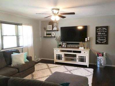 Beautiful Farmhouse Living Room Decor Ideas37