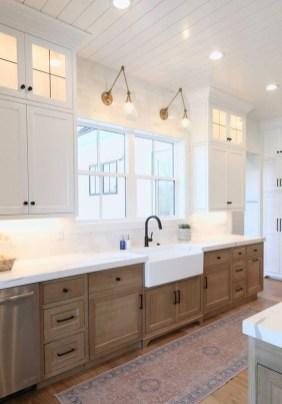Cool Farmhouse Kitchen Color Design Ideas24