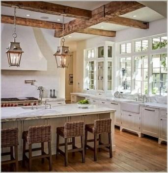 Cool Farmhouse Kitchen Color Design Ideas42