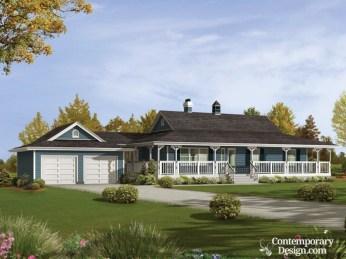 Creative Farmhouse House Plans Ideas With Wrap Around Porch03
