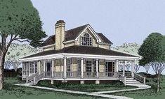 Creative Farmhouse House Plans Ideas With Wrap Around Porch14