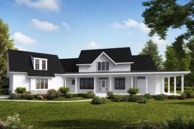 Creative Farmhouse House Plans Ideas With Wrap Around Porch19