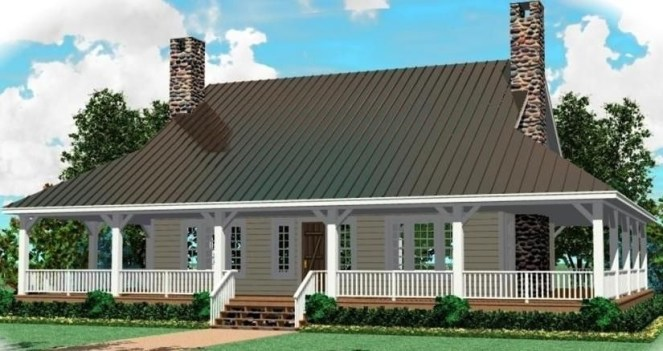 Creative Farmhouse House Plans Ideas With Wrap Around Porch21