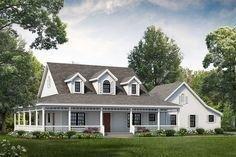 Creative Farmhouse House Plans Ideas With Wrap Around Porch37