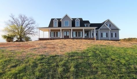 Creative Farmhouse House Plans Ideas With Wrap Around Porch39