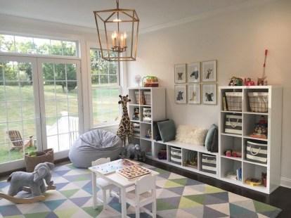 Creative Small Playroom Ideas For Kids06