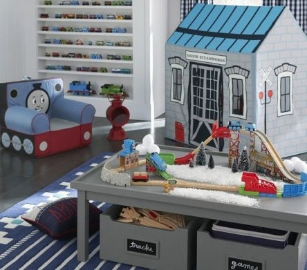 Creative Small Playroom Ideas For Kids17