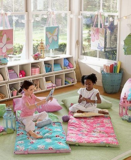 Creative Small Playroom Ideas For Kids28