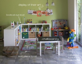 Creative Small Playroom Ideas For Kids43