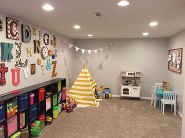 Creative Small Playroom Ideas For Kids44