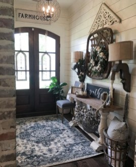 Elegant Antique Farmhouse Decoration Ideas For Home31