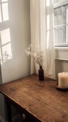 Elegant Antique Farmhouse Decoration Ideas For Home40