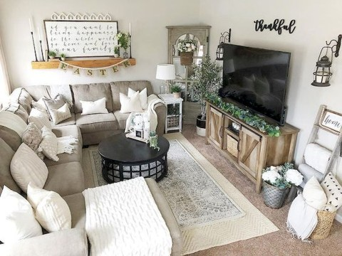 Gorgeous Living Room Wall Decor Ideas08