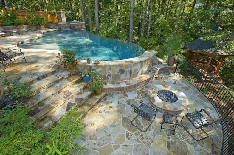 Luxury Backyard Designs Ideas48