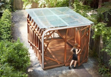 Modern Wood Pavilion Design Ideas For Backyard02