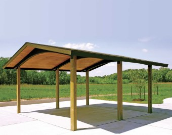 Modern Wood Pavilion Design Ideas For Backyard05