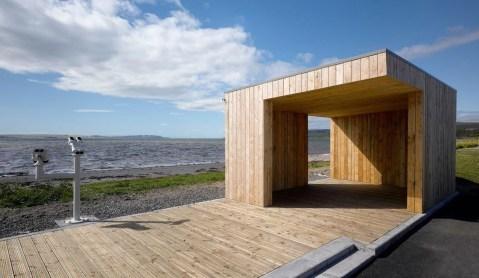 Modern Wood Pavilion Design Ideas For Backyard11
