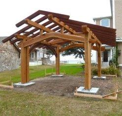 Modern Wood Pavilion Design Ideas For Backyard18