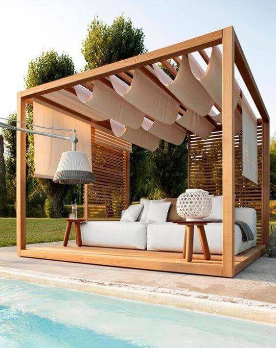 Modern Wood Pavilion Design Ideas For Backyard27