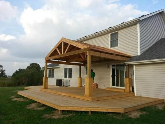 Modern Wood Pavilion Design Ideas For Backyard31
