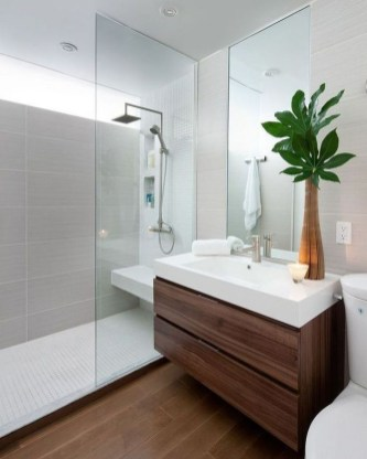 Outstanding Bathroom Makeovers Ideas For Small Space35