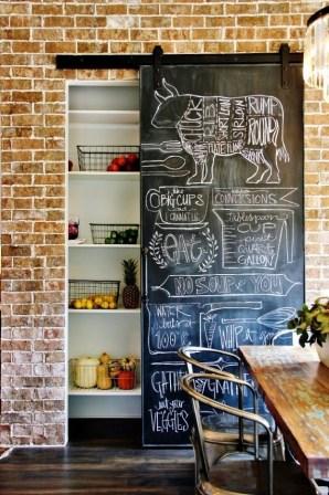 Popular Farmhouse Kitchen Art Ideas To Scale Up Your Kitchen09