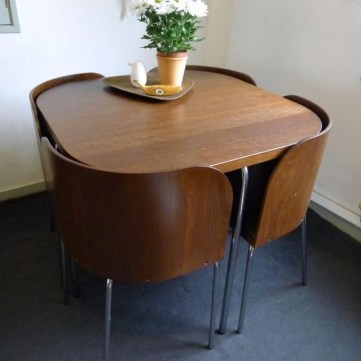 Stunning Dining Tables Design Ideas For Small Space17