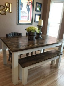 Stunning Dining Tables Design Ideas For Small Space19