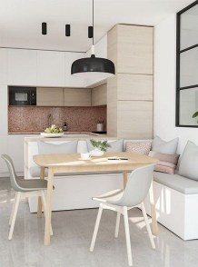 Stunning Dining Tables Design Ideas For Small Space22