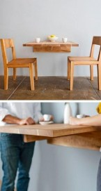 Stunning Dining Tables Design Ideas For Small Space29