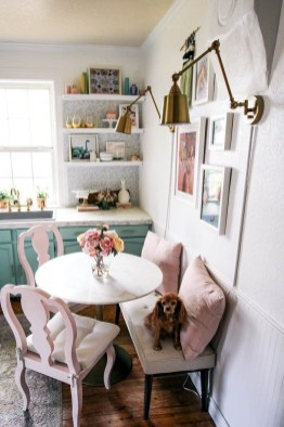 Stunning Dining Tables Design Ideas For Small Space34
