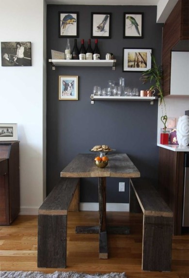 Stunning Dining Tables Design Ideas For Small Space43