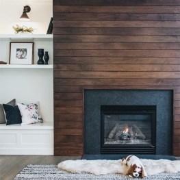 Unique Farmhouse Fireplace Design Ideas For Living Room05