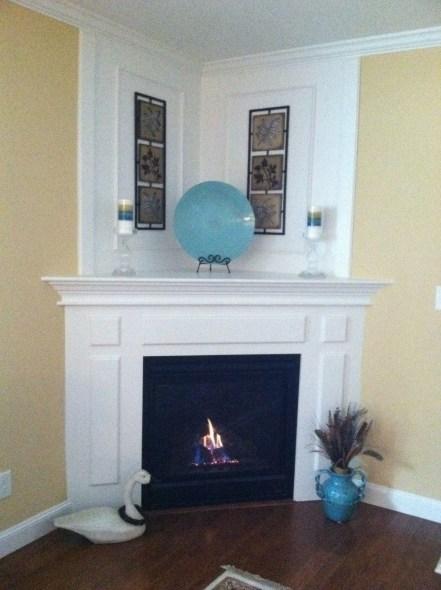 Unique Farmhouse Fireplace Design Ideas For Living Room28