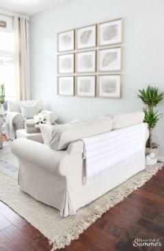 Unique Summer Decor Ideas For Living Room07