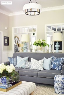 Unique Summer Decor Ideas For Living Room11
