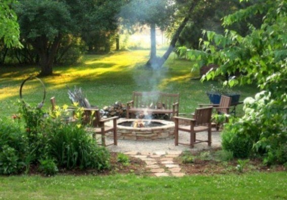 Beautiful Outdoor Fire Pits Ideas19