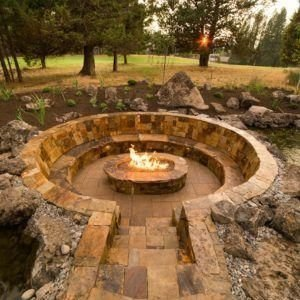 Beautiful Outdoor Fire Pits Ideas29