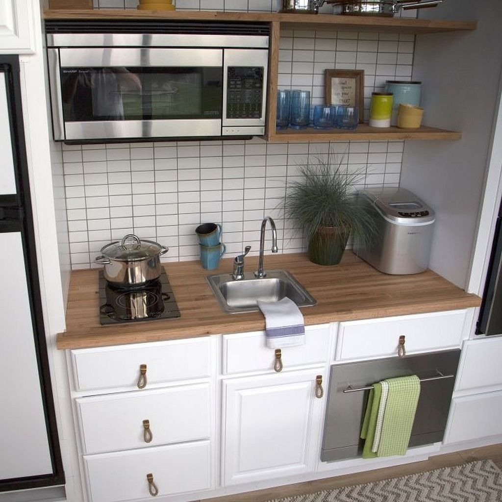 Elegant Small Kitchen Ideas For Outdoor44