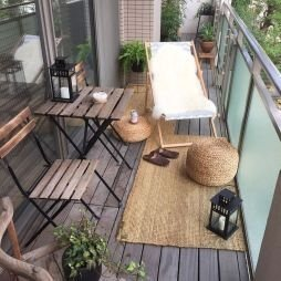 Inexpensive Apartment Patio Ideas On A Budget07