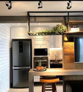 Attractive Industrial Kitchen Ideas That Will Amaze You32