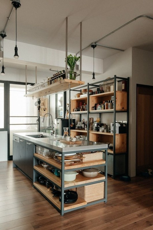 Attractive Industrial Kitchen Ideas That Will Amaze You46